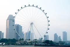 新加坡飞行物 免版税库存照片