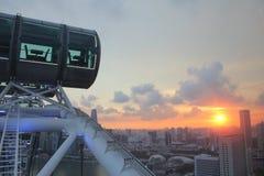 新加坡飞行物 库存图片