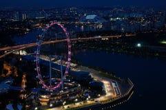 新加坡飞行物 免版税库存图片