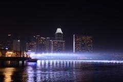 新加坡,第24 2013年12月 库存图片