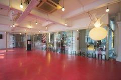 新加坡, 2015年10月13日:红色小点设计博物馆是中心 免版税库存图片