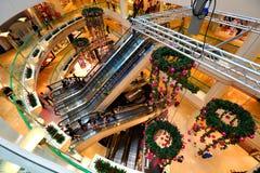 新加坡:废物城市购物中心 图库摄影