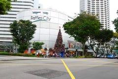 新加坡:废物城市 库存照片