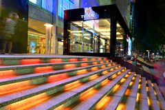 新加坡:托特象征的突然出现商店 图库摄影