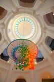 新加坡:新加坡国家博物馆圆形建筑的圆顶  免版税库存图片
