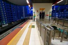 新加坡:轻便铁路运输(LRT) 库存图片