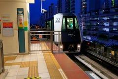新加坡:轻便铁路运输(LRT) 免版税库存照片