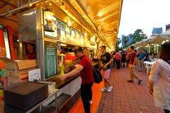 新加坡:Makansutra暴食者海湾 免版税图库摄影