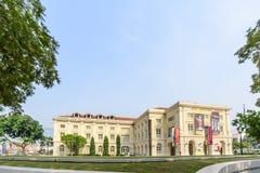 新加坡- 2014年10月19日:亚洲文明博物馆在Singapor 库存图片