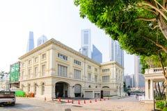 新加坡- 2014年10月19日:亚洲文明博物馆在Singapor 免版税库存照片