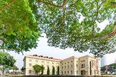 新加坡- 2014年10月19日:亚洲文明博物馆在Singapor 库存照片