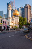 新加坡- 2016年7月05日:北桥路的苏丹清真寺我 免版税库存图片