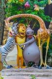 新加坡-2015年7月20日:游人和主题乐园访客Attra 免版税库存图片