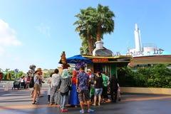 新加坡- 2014年6月21日:环球影业新加坡是他们 免版税图库摄影