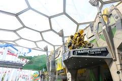 新加坡- 2014年6月21日:环球影业新加坡是他们 免版税库存图片