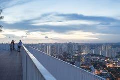 新加坡- 2016年12月14日:从石峰的看法在Duxt 免版税库存图片