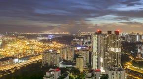 新加坡- 2016年12月14日:从石峰的看法在Duxt 免版税图库摄影