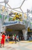 新加坡- 7月20,2015 :变压器乘驾:最后3 免版税库存照片