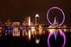 小游艇船坞海湾,新加坡 免版税库存图片