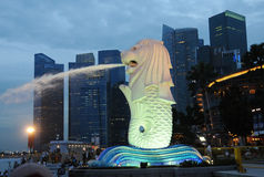 小游艇船坞海湾,新加坡 库存照片