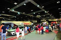 新加坡2016年陈列超过20个新的车模型的Motorshow 库存图片