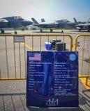 新加坡Airshow 2018年 免版税库存照片