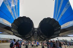 新加坡Airshow 2018年 免版税库存图片