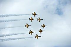 新加坡Airshow 2014年 免版税库存图片