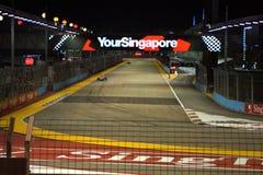 新加坡F1 免版税图库摄影
