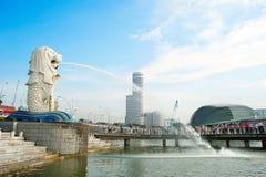 新加坡Merlion 免版税库存照片