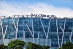 新加坡NUS商学院大学 免版税库存照片