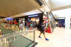 新加坡Sennheiser零售店 库存图片
