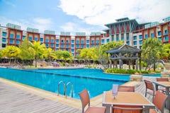 新加坡sentosa旅馆 免版税库存照片