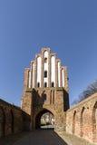 新勃兰登堡,梅克伦堡,德国Friedland门  免版税库存照片