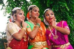 新印第安女孩 免版税库存图片