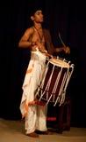 新印第安鼓手 免版税图库摄影