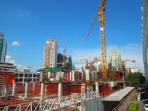 新发展计划在曼谷,泰国 库存图片