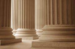 新古典主义的列 免版税库存图片