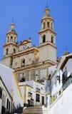 新古典主义的大教堂 免版税库存照片
