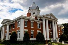 新古典主义的法院大楼 库存图片