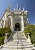 新古典主义的大厦在雅典,希腊 图库摄影