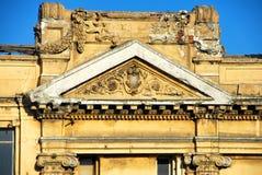 新古典主义的大厦详细资料 图库摄影
