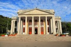 新古典主义的市政大厦在班格洛,印度 库存图片