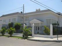 新古典主义的房子 库存照片