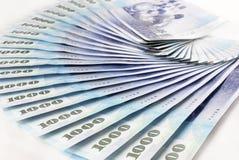 新台币票据 免版税库存图片