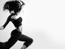 新和性感的现代舞蹈演员 免版税图库摄影