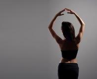 新和性感的现代舞蹈演员 库存图片