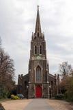 新哥特式St 迈克尔教会 库存照片
