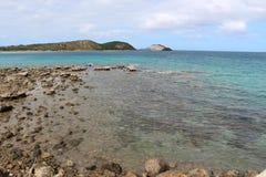 新喀里多尼亚海滩 库存图片