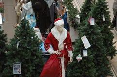 新圣诞老人 免版税库存照片